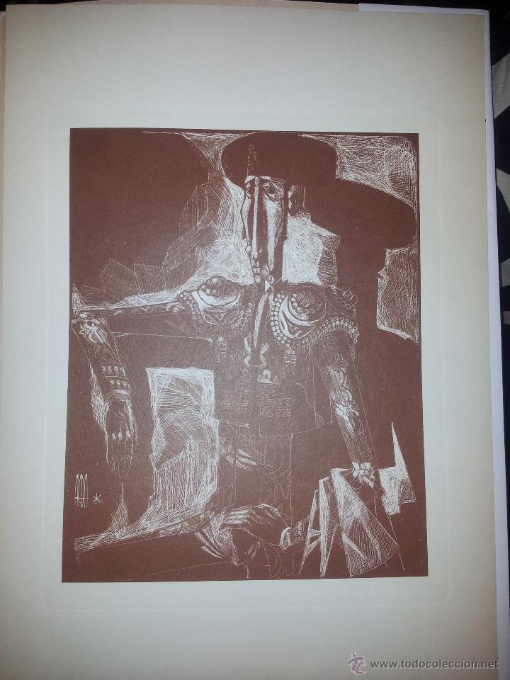 Arte: Carpeta con seis grabados del pintor Juan Antonio Alda - Foto 6 - 43268603