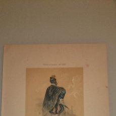Arte: FRAGONARD - LIT. LETRONNE - LE BRAVO XVI SIECLE - PARIS 1841 - 34,7 X 27,5 CM. TRAJES. Lote 43404866