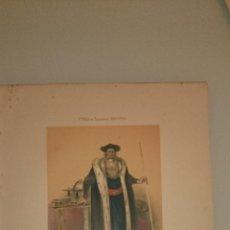 Arte: FRAGONARD - LIT. LETRONNE - EL ASTRÓLOGO XVII SIECLE - PARIS 1841 - 34,7 X 27,5 CM. TRAJES. Lote 43404942