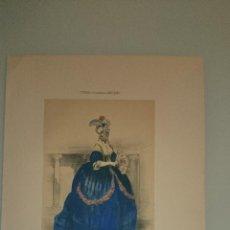 Arte: FRAGONARD - LIT. LETRONNE - LA FAVORITA XVIII SIECLE - PARIS 1841 - 34,7 X 27,5 CM. TRAJES. Lote 43405070