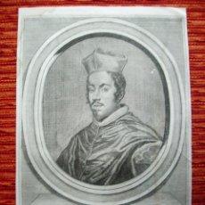Arte: 1750C.-LUIS MANUEL FERNÁNDEZ DE PORTOCARRERO.ARZOBISPO DE TOLEDO.GRABADO ORIGINAL. Lote 43683412