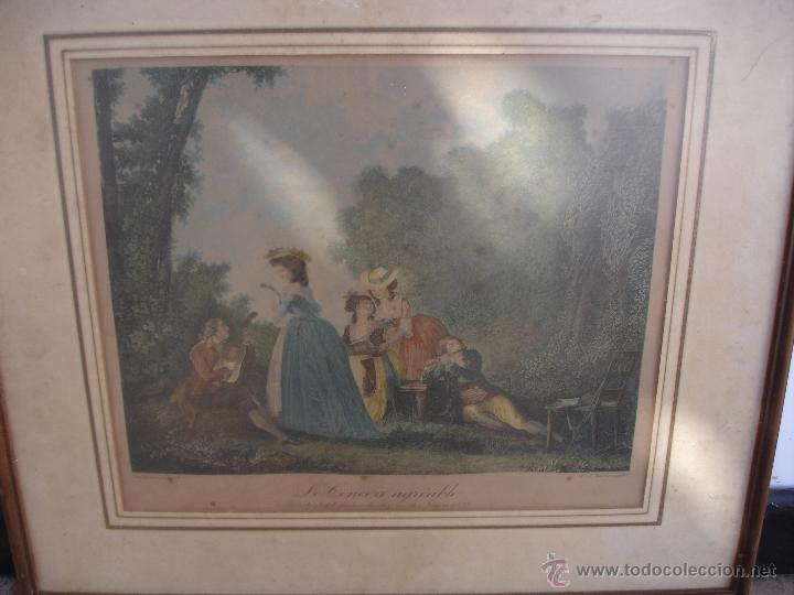 GRABADO A COLOR SIGLOXVII GRABADO C.VARIN (Arte - Grabados - Antiguos hasta el siglo XVIII)