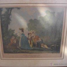 Arte: GRABADO A COLOR SIGLOXVII GRABADO C.VARIN. Lote 43917122