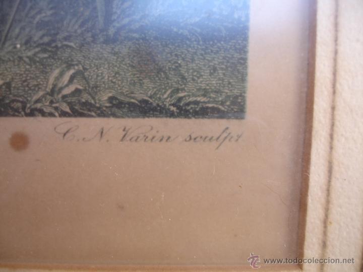 Arte: GRABADO A COLOR SIGLOXVII GRABADO C.VARIN - Foto 3 - 43917122