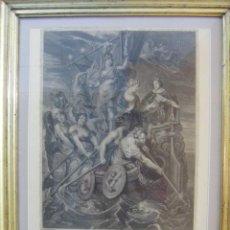 Arte: GRABADO LA MAJORITÉ DU ROI LOUIS XIII DE FRANCIA, DIBUJO DE RUBENS ESTAMPADO EN PARÍS 1710. Lote 43956432
