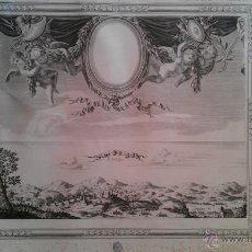 Arte: 1650 GRABADO TOMA DE AGER POR FRANCESES GUERRA SEGADORS CATALUNYA LLEIDA LÉRIDA. Lote 64432943