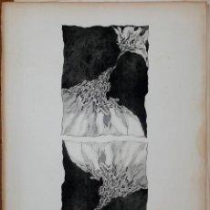 Arte: GRABADO FIRMADO, CECILIA PINO, AÑO 1974. TAMAÑO PAPEL: 57X77CM.. Lote 44448401