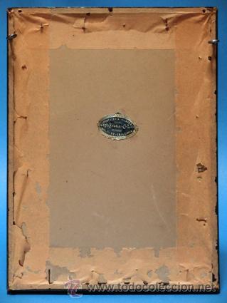 Arte: ANTIGUA CALCOGRAFÍA AL ACERO. EMILE ROUARGE. PARÍS. FUENTE, IGLESIA, CAMPANARIO. VILLA VIEJA. - Foto 6 - 44687153