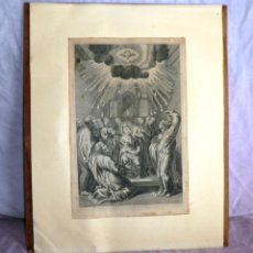 Arte: ANTIGUO GRABADO ORIGINAL SIGLO XVII - GRAN FORMATO.. Lote 44771523