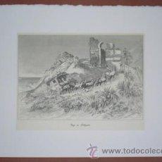 Art - VIAJE EN DILIGENCIA. Costumbres españolas. - 44906284