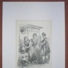Kunst - BARCELONA - TARRAGONA - ZARAGOZA. Costumbres españolas. - 44906447