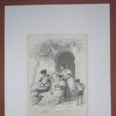 Art - ESCENA GRANADINA. Costumbres españolas. - 44906644