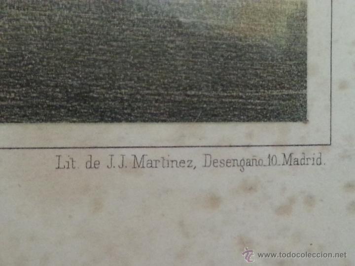Arte: EXCELENTE Y DIFICILISIMO GRABADO DE LA VISTA DE LA CIUDAD Y PUERTO DE BARCELONA. SIN FECHA. S. XIX - Foto 3 - 45009440