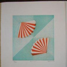 Arte: EMILIA TRUEBA (CANTABRIA): BARNICOS 1999. NUMERADO Y FIRMADO. Lote 45069005