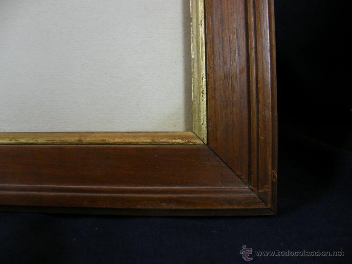 Arte: Grabado a color la fuite a Dessein de principios s. XX según modelo XVIII de original de Fragonard - Foto 2 - 45133046