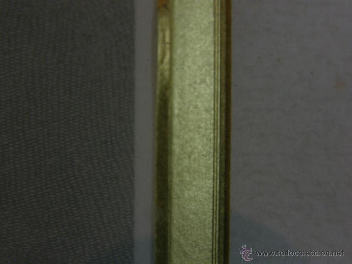 Arte: Grabado a color la fuite a Dessein de principios s. XX según modelo XVIII de original de Fragonard - Foto 10 - 45133046