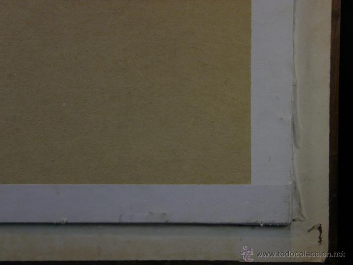 Arte: Grabado a color la fuite a Dessein de principios s. XX según modelo XVIII de original de Fragonard - Foto 12 - 45133046