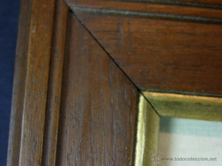 Arte: Grabado a color la fuite a Dessein de principios s. XX según modelo XVIII de original de Fragonard - Foto 14 - 45133046