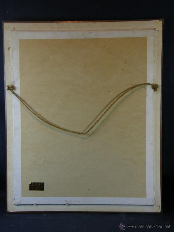 Arte: Grabado a color la fuite a Dessein de principios s. XX según modelo XVIII de original de Fragonard - Foto 17 - 45133046