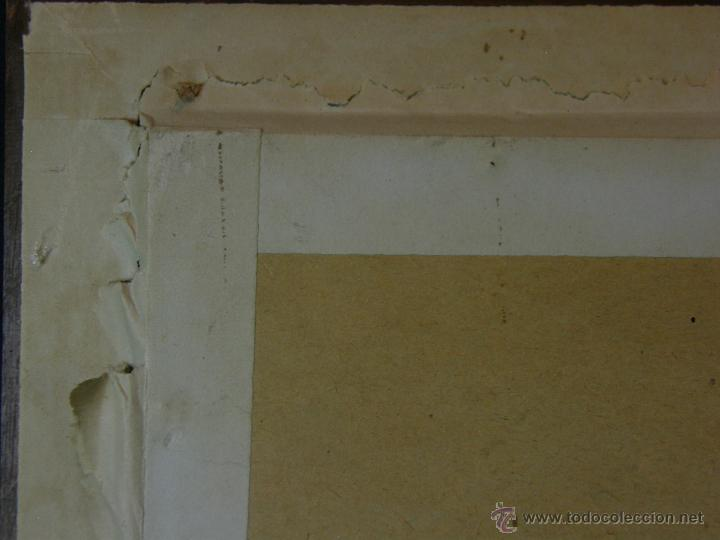 Arte: Grabado a color la fuite a Dessein de principios s. XX según modelo XVIII de original de Fragonard - Foto 18 - 45133046