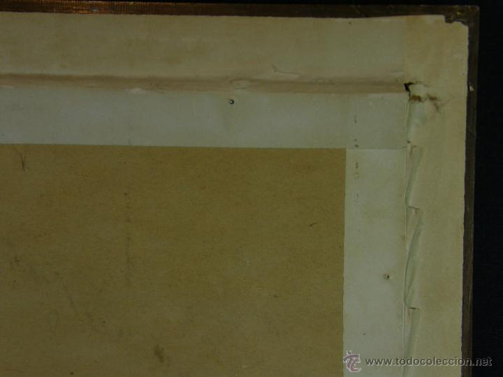 Arte: Grabado a color la fuite a Dessein de principios s. XX según modelo XVIII de original de Fragonard - Foto 19 - 45133046