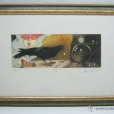 Arte: BLAS GARCIA - EXQUISITO GRABADO FIRMADO Y NUMERADO - FIGURATIVO. Lote 45408037