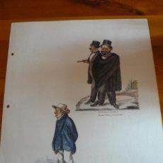 Arte: GRABADO - PERSONAJES DE UN CUENTO ANTIOQUEÑO. Lote 45483366