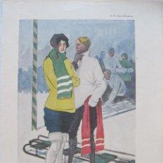Arte: FOTOLITOGRAFIA MODERNISTA ALEMANA I,1914.GLATZ Y WEISGERBER. Lote 45549662