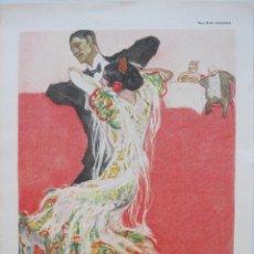 Arte: FOTOLITOGRAFÍA MODERNISTA ALEMANA III,1914. PAUL RIETH. Lote 45549706