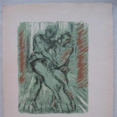 Arte: LITOGRAFÍA DE BAILARINES DE BALLET I, 1946.FRANCOIS BARETTE. Lote 45549783