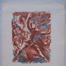 Arte: LITOGRAFÍA DE BAILARINES DE BALLET II, 1946.FRANCOIS BARETTE. Lote 45549819