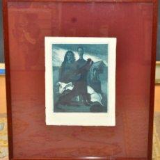 Arte: CARLES MADIROLAS (BARCELONA, 1934 - 2007) GRABADO ORIGINAL CON TIRAJE P/A. Lote 45598913