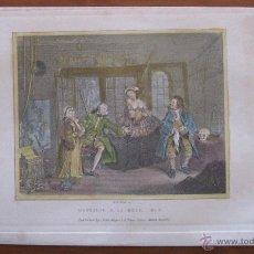 Arte: NOVIA A LA MODA, 1830. WILLIAM HOGARTH. Lote 45609199