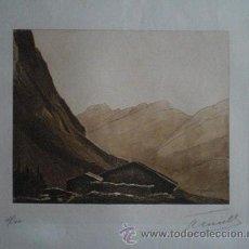 Art: ANDRÉ ÉMILE LEVEILLE (LILLE FRANCIA 1880-PARÍS 1963) GRABADO FIRMADO A LÁPIZ Y NUMERADO 173/300. Lote 45637513