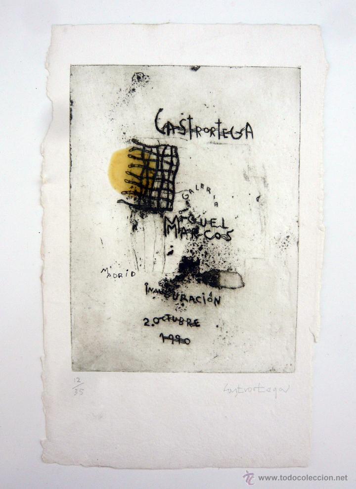 grabado de pedro castrortega (1956) / galeria m - Comprar Grabados ...