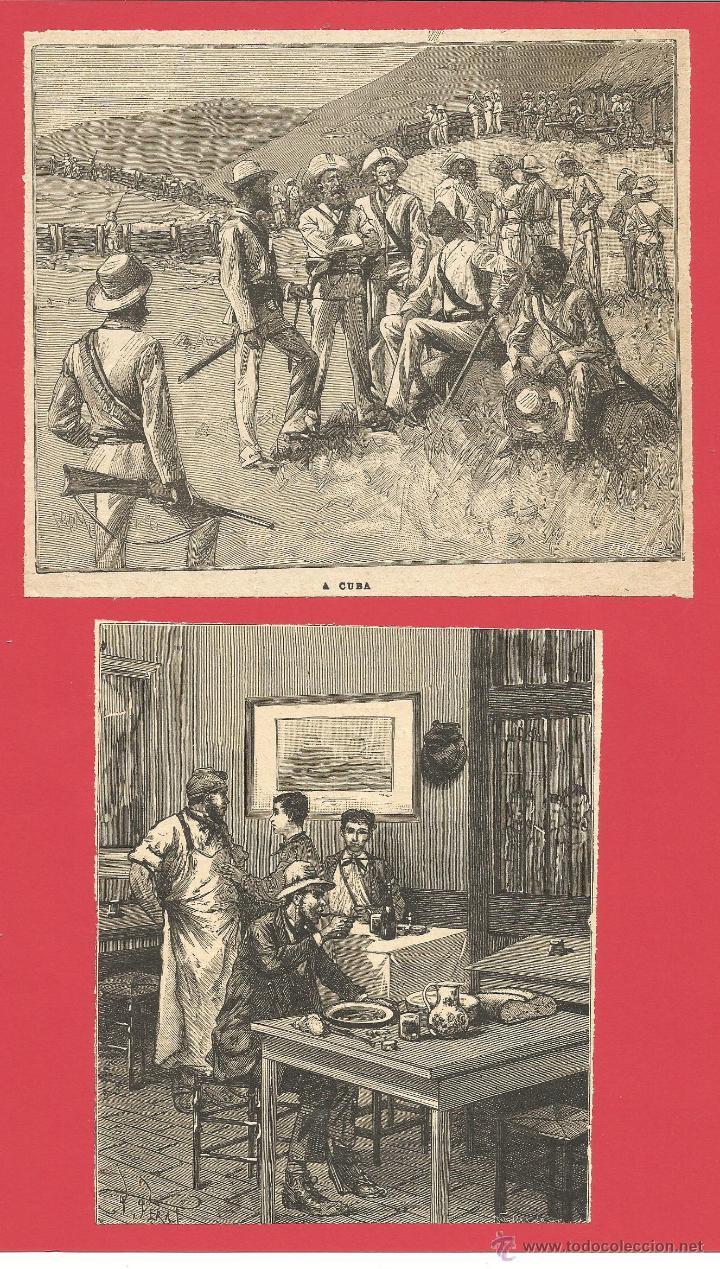 cuba - obra de peral 1863 - muy bonito con much - Comprar Grabados ...