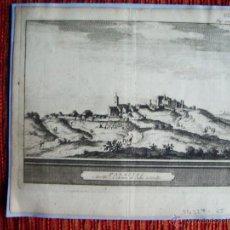 Arte: 1650C-GRABADO ORIGINAL DE LOS PALACIOS. SEVILLA. Lote 64471694