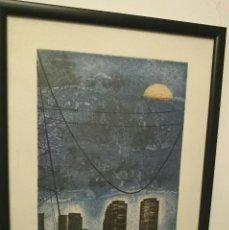 Arte: GRABADO SOLEDAD BARBADILLO - LA ELECTRICIDAD PARA FERIA - NUMERADO. Lote 46152625