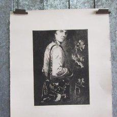 Arte: GRABADO – CALCOGRAFICO -- AYARRAN +/-. Lote 46178862