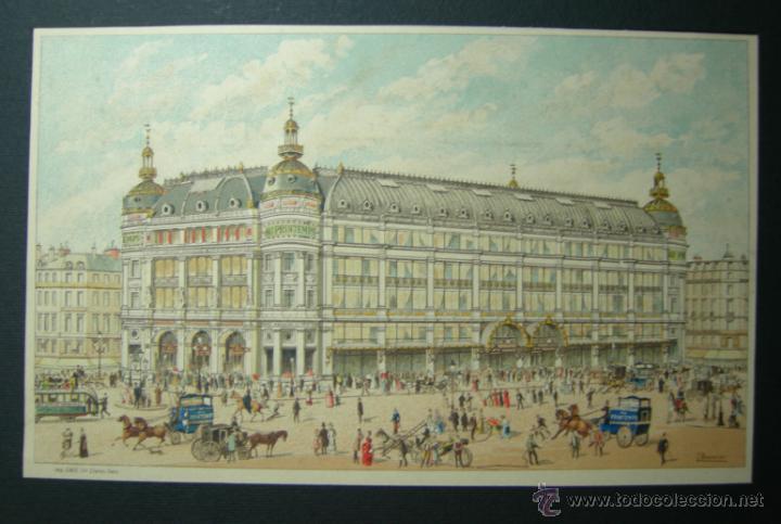 GRABADO A COLOR - HACIA 1860 - IMP. CHAIX - PARIS - J. BONNIER (Arte - Grabados - Modernos siglo XIX)