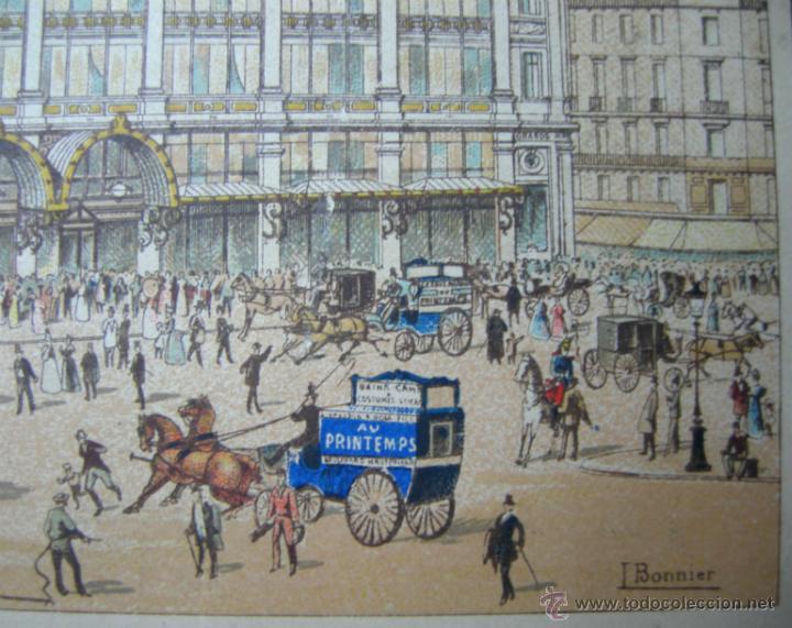Arte: GRABADO A COLOR - HACIA 1860 - IMP. CHAIX - PARIS - J. BONNIER - Foto 2 - 46179895