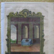 Arte: EMBLEMA BARROCO: TODO LO QUE BRILLA NO ES ORO, 1680. Lote 46252953