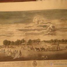 Arte: JOAQUIN BALLESTER GRABADO 1775 ORIGINAL. Lote 46404042