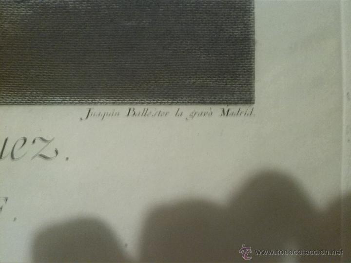 Arte: Joaquin Ballester grabado 1775 original - Foto 2 - 46404042
