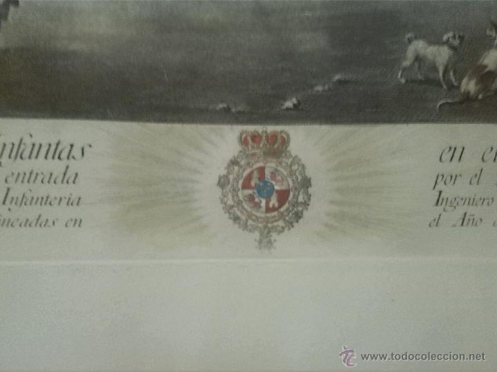 Arte: Joaquin Ballester grabado 1775 original - Foto 3 - 46404042