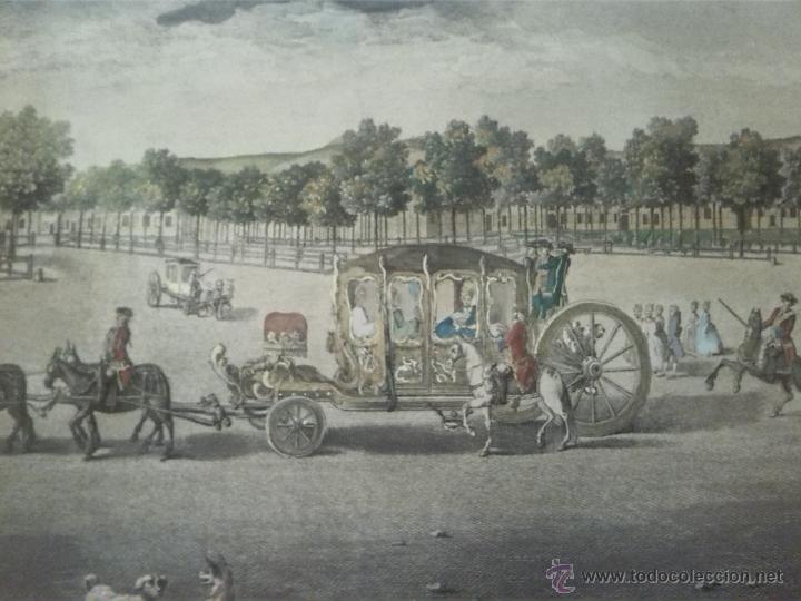 Arte: Joaquin Ballester grabado 1775 original - Foto 5 - 46404042