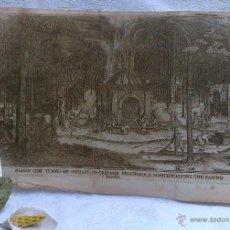 Arte: SIGLO XVIII O ANTERIOR. PAGODI CIOÉ TEMPLI DE INDIANI ED ORRENDE PENITENZE, CHE FANNO I FAKIRI... Lote 46411236