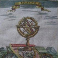 Esfera Armilar II, 1685.Mallet