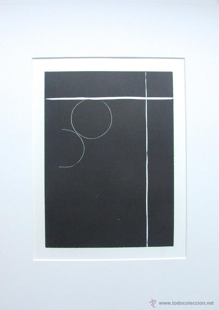 BONITO GRABADO ORIGINAL DE INES SCHEFFER, GRAN CALIDAD (Arte - Grabados - Contemporáneos siglo XX)