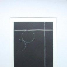 Arte: BONITO GRABADO ORIGINAL DE INES SCHEFFER, GRAN CALIDAD. Lote 46744707